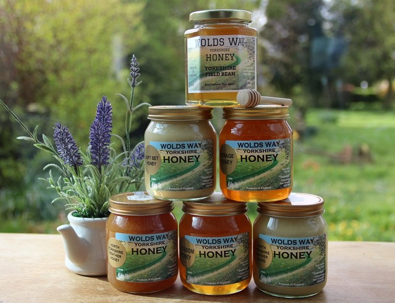 Yorkshire wolds honey products
